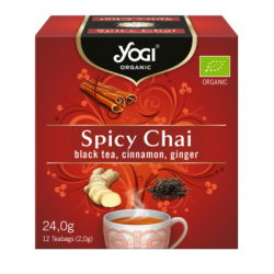 Yogi Tea - Spicy Chai, 12...